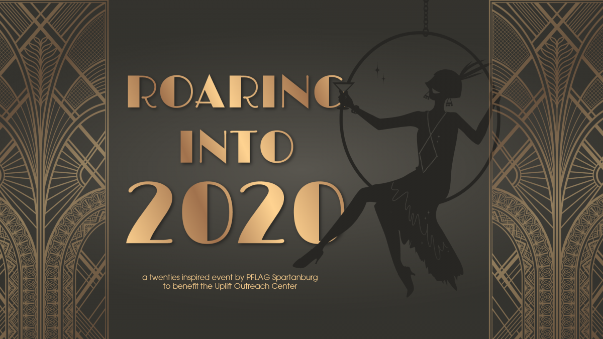PFLAG New Year's Even fundraiser Roaring into 2020